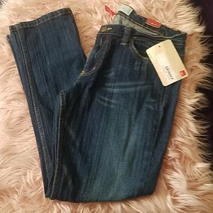 Mossimo skinny dark blue  jeans. Size 15. NWT